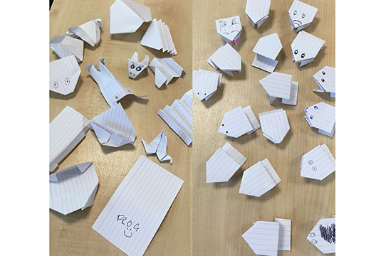 How Origami Frogs Can Help Jump The Health Gap The Psychologist