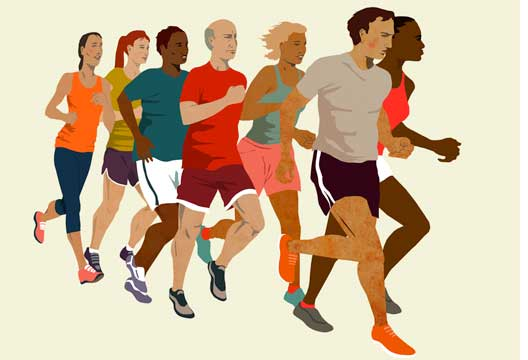 Run Into A New Lovers Arms at Dating for Runners